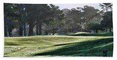 Greens Golf Harding Park San Francisco  Beach Sheet