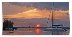 Beach Sheet featuring the photograph Greet The Day by HH Photography of Florida