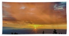 Greet The Marble View Morning Beach Towel