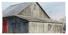 Rustic Barn Beach Sheet