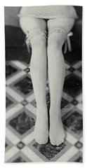 Grey Stockings #6477 Beach Sheet