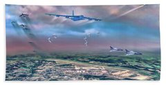 Griffiss Afb Rome Ny Beach Sheet by Dave Luebbert