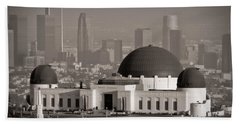 Griffith Observatory Beach Towel