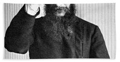 Grigori Rasputin, Russian Mystic Beach Towel