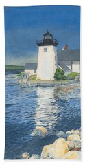Grindle Point Light Beach Sheet