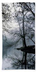 Grings Mill Fog 1043 Beach Towel