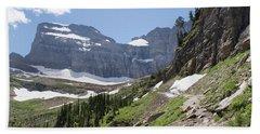 Grinnell Glacier Trail - Glacier National Park Beach Towel