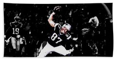 Gronk Beach Towel by Brian Reaves