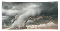 Groom Storm Beach Towel