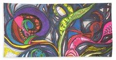 Groovy Series Beach Towel by Chrisann Ellis