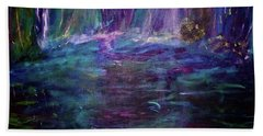 Grotto Beach Towel by Heidi Scott