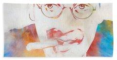 Groucho Marx Beach Sheet by Dan Sproul