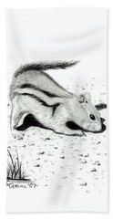 Ground Squirrels Beach Towel