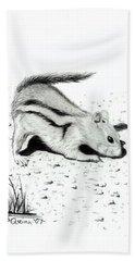 Ground Squirrels Beach Sheet