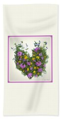 Growing Heart Beach Towel