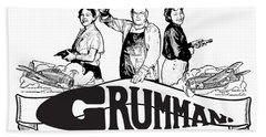 Grumman Aircraft Est 1929 Beach Towel