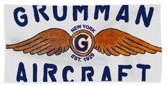 Grumman Wings Blue Beach Sheet