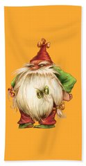 Grumpy Gnome Beach Sheet by Andy Catling