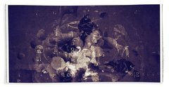 Grunge Collection Beach Towel by Modern Art Prints