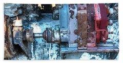 Grungy Engine Beach Sheet