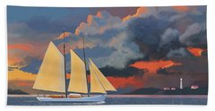Storm Schooner Beach Sheet