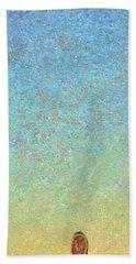 Guard Beach Towel by James W Johnson