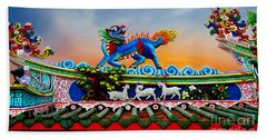 Guardian Of The Temple Beach Towel