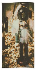 Guards Of Nutcracker Way Beach Towel