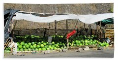 Guatemala Stand 2 Beach Towel by Randall Weidner