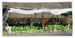 Guatemala Stand 2 Beach Sheet by Randall Weidner