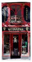 Beach Sheet featuring the photograph Guinness Beer 5 by Andrew Fare