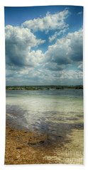 Gulf Beach Beauty Beach Sheet