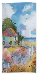 Gulf Coast Cottage Beach Sheet