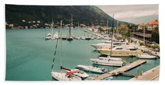 Gulf Of Kotor Beach Towel