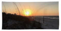 Gulf Shores Sunrise  Beach Towel