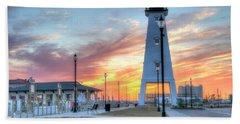 Gulfport Lighthouse Beach Sheet