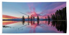 Gull Point At Sunrise Beach Towel