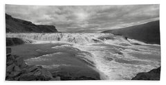 Gullfoss Waterfall No. 1 Beach Sheet
