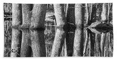 Beach Sheet featuring the photograph Gum Swamp by Geraldine DeBoer