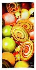 Gumdrops And Candy Pops  Beach Towel