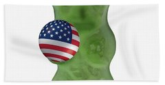 Gummy Bear-america Beach Towel