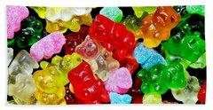 Gummy Bears Beach Sheet