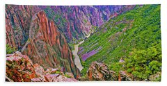 Gunnison River Beach Towel