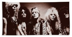 Guns N' Roses - Band Portrait 02 Beach Sheet