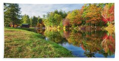 Gunstock Pond Beach Towel