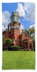 Gwinnett County Historic Courthouse Beach Towel