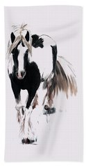 Gypsy Vanner Beach Towel