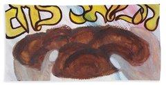 Ha Motzi Lechem - Blessing Over The Bread Beach Towel