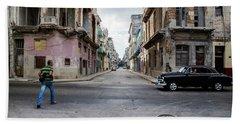 Habana Vieja Horizon Beach Towel