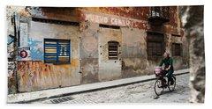 Habana Vieja Ride Beach Towel